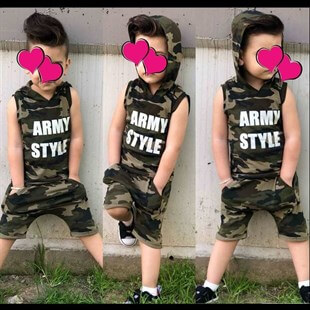Baby Camouflage Set Double