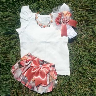 Baby Summer bloomer set